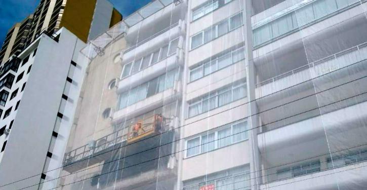 Manutenção de fachadas